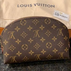 New Louis Vuitton cosmetic bag .